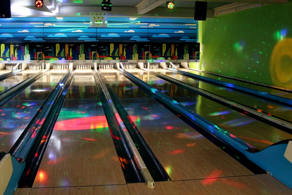 Cosmic Bowling Quilles G Plus